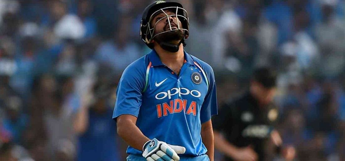 Cluttered approach on seaming wickets hurting Rohit Sharma