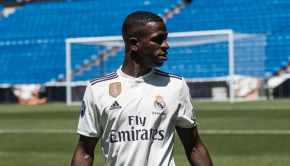 Vinicius showed stars and stripes for Madrid in promising debut