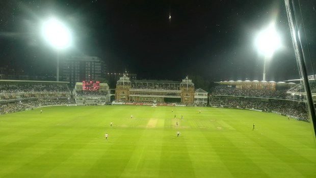 Dusk at Lord's: A sight to behold