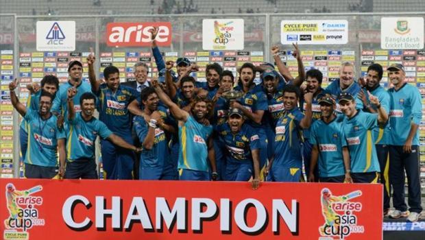 Unbeaten Sri Lanka win the Asia Cup 2014