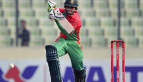 Mominul Haque in action