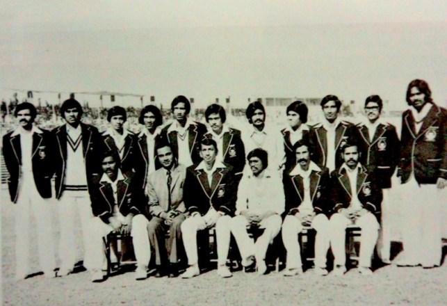 The Bangladesh team which faced MCC XI in 1976-77. Image Courtesy: Sportskeeda