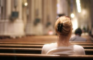 girl-in-church