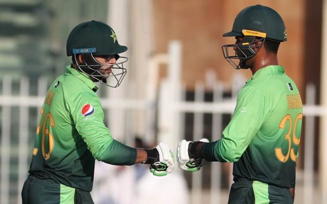 The new opening pair of Pakistan in One-Days is doing wonders