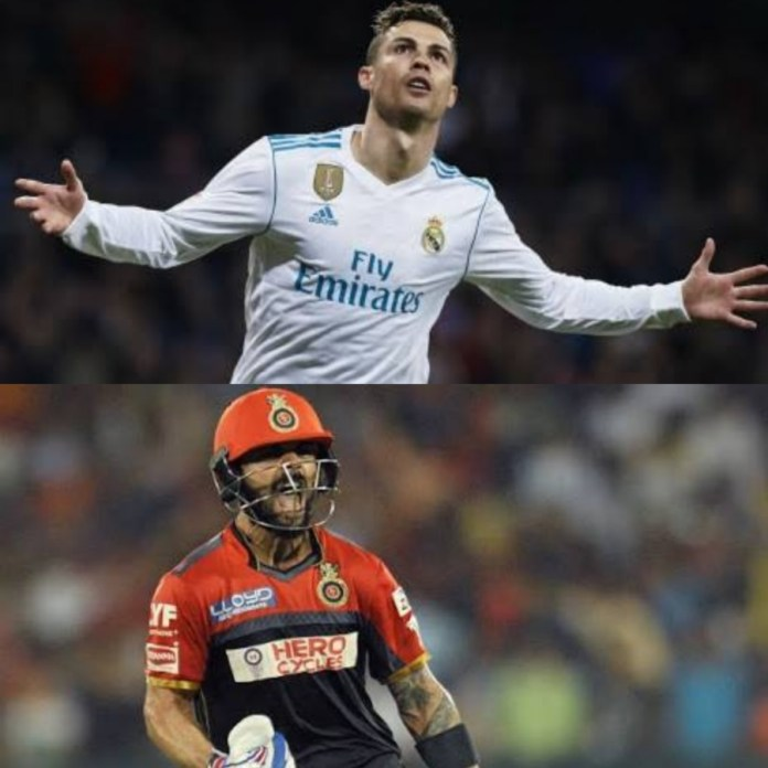 The similarities between Virat Kohli and Cristiano Ronaldo