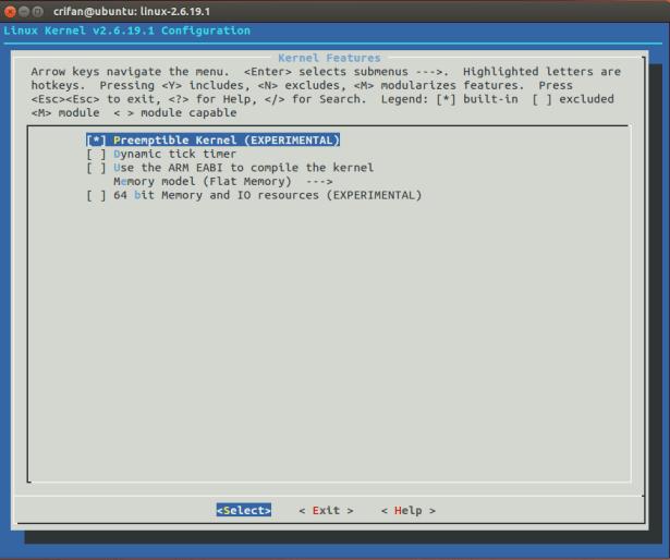 Kernel Features