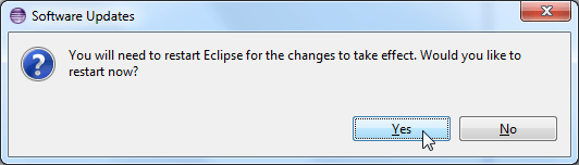 after install adt software updates need restart eclipse