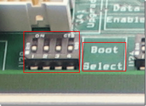 as353x boot select detail view