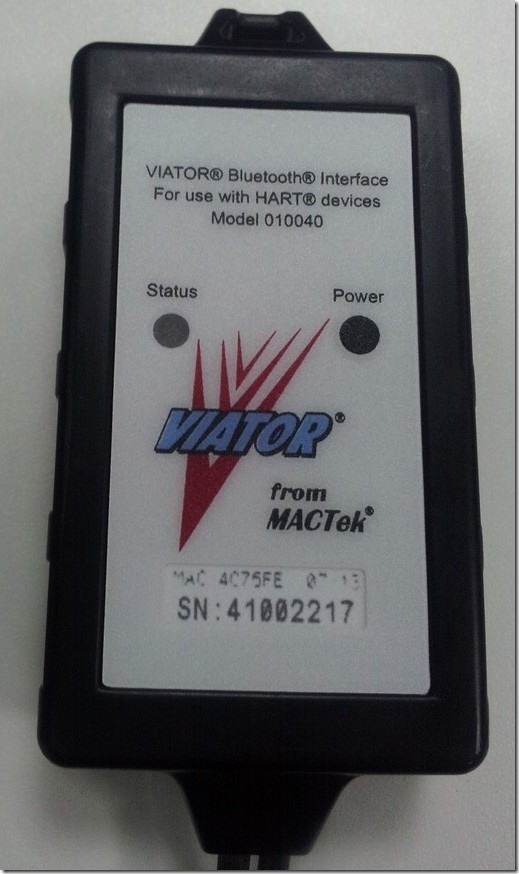 detail show viator bluetooth interface for hart model 010040