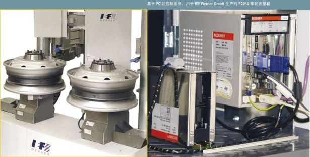 based on pc control system ief werner gmbh r2010 reel measure machine