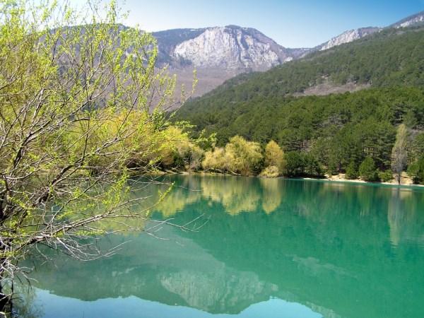 Озеро Бирюзовое Крым