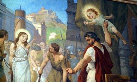 Il martirio del santo