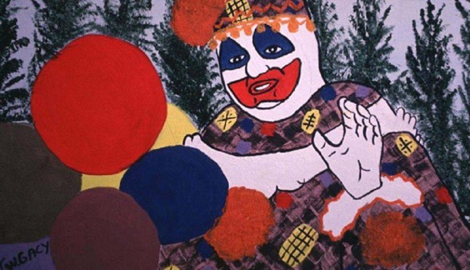 One of John Wayne Gacy's 'Killer Clown' paintings