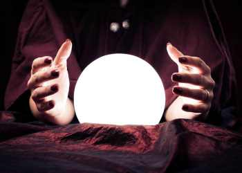 psychic ball and hands