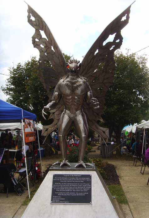 The 13th Annual Mothman Festival A Focus On The Unexplained And Mystifying Criminal Element