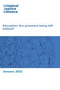 CJA Resource 3 Prison Education Inquiry FINAL 1 Jan cover page