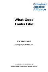 What Good Looks Like 2017