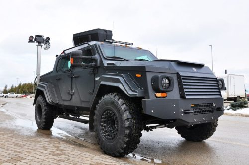 TERRADYNE ARMORED VEHICLES INC. - GURKHA by Terradyne