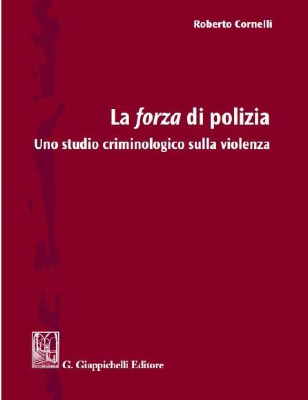 Copertina Libro: La forza di polizia