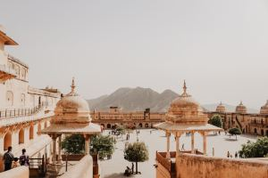 amber fort jaipur image from unsplash