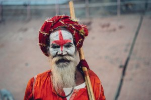 holy man varanasi photography image from pixabay