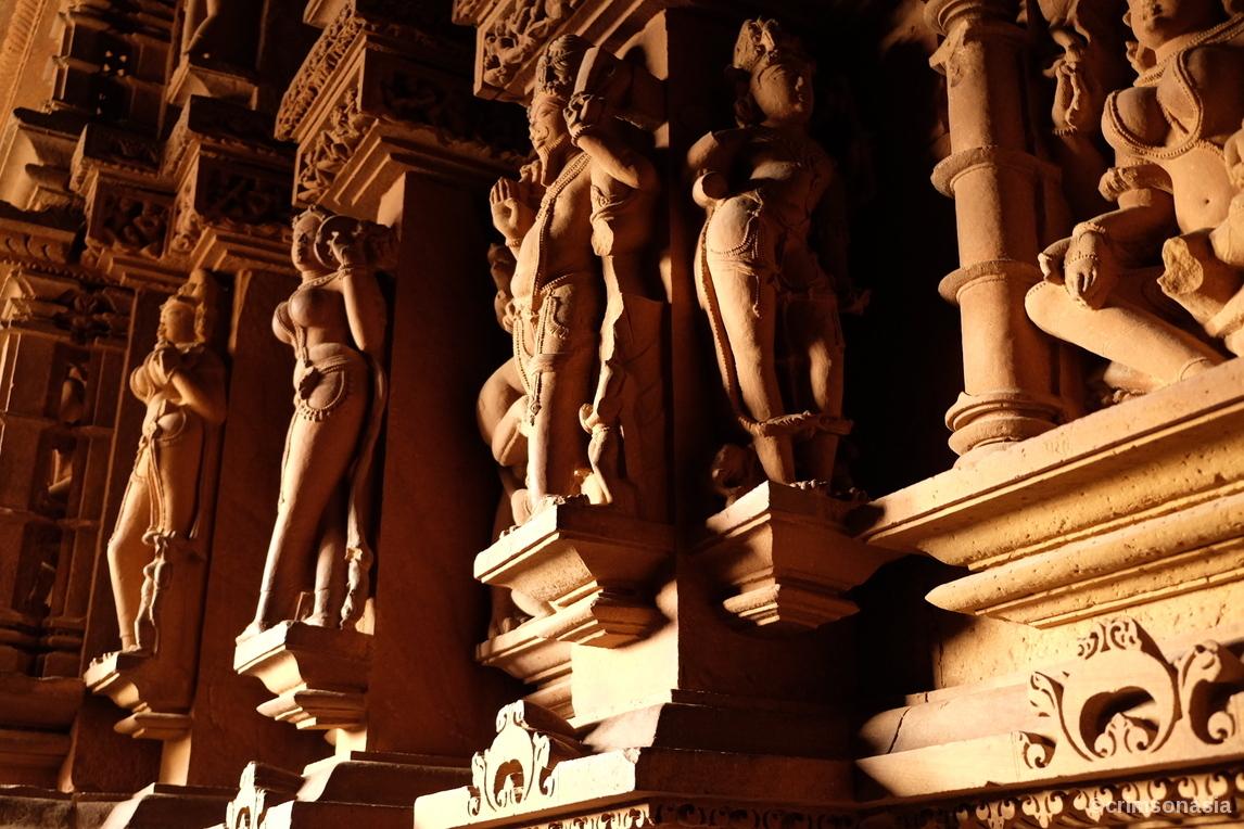 khajuraho temple complexes classic india program crimsonasia
