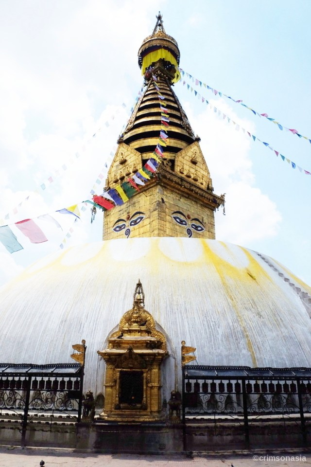 best of nepal crimsonasia swayambhunath temple