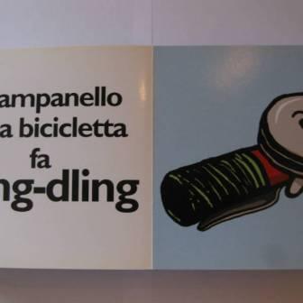 il campanello della bicicletta fa dling dling