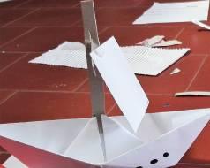 origami la barchetta