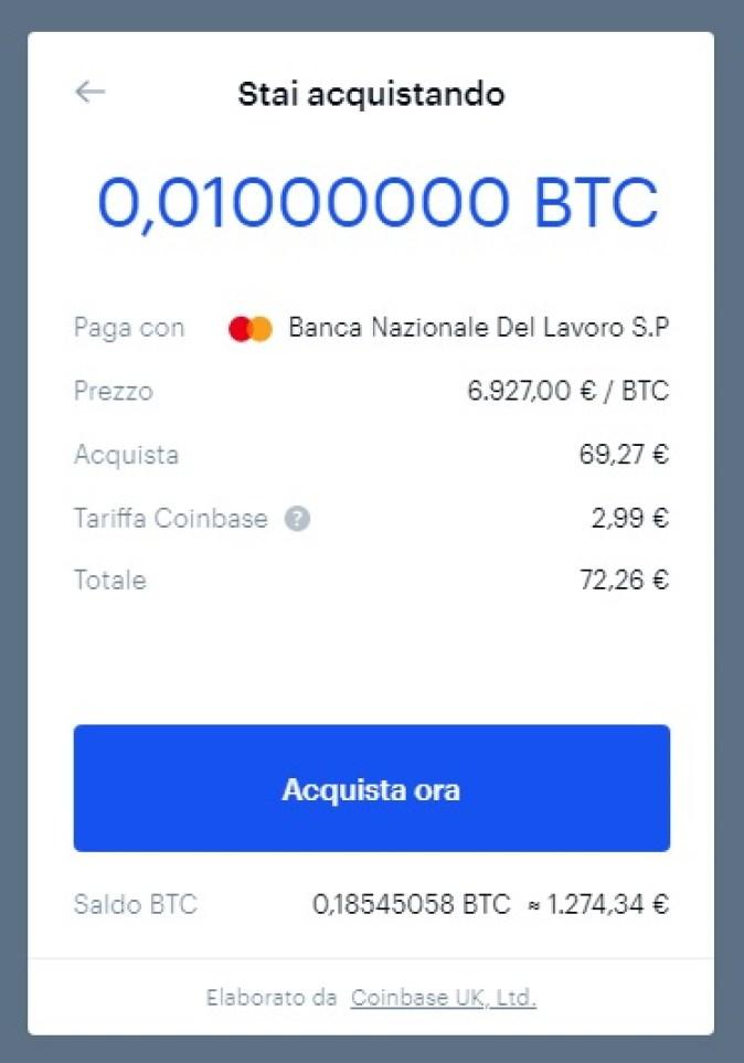 btc market o coinbase portafoglio bitcoin leggero