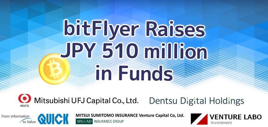 La casa de cambio bitFlyer recauda aproximadamente $ 4M en fondos