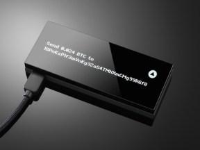 Cartera fría de bitcoin KeepKey