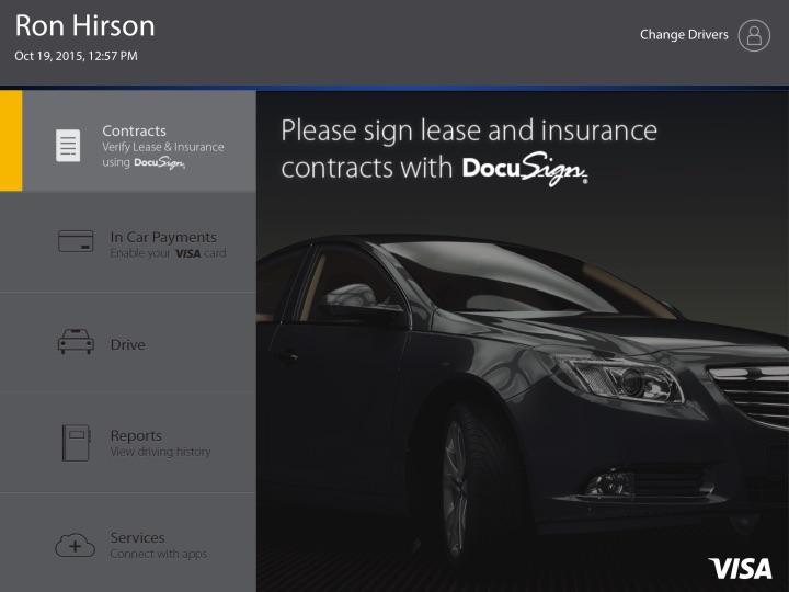 DocuSign y Visa reinventan el arrendamiento de autos usando la Blockchain