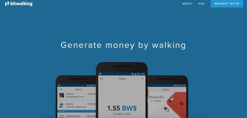 Bitwalking: la aplicación que permite generar criptomonedas al caminar
