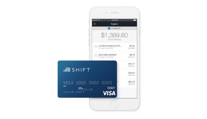 Coinbase y Shift Payments lanzan la primera tarjeta de débito VISA para pagar con bitcoins en Estados Unidos