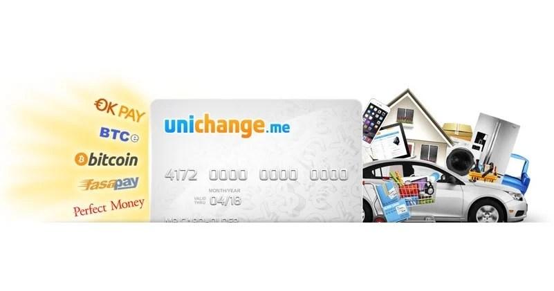 Unichange.me ofrece tarjetas de débito recargables con Bitcoin