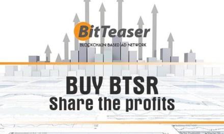 La red publicitaria BitTeaser comparte sus ganancias con los titulares de BTSR