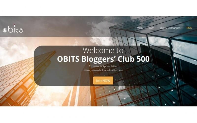 OBITS reparte 11 BTC en su última iniciativa 'Bloggers Club 500'