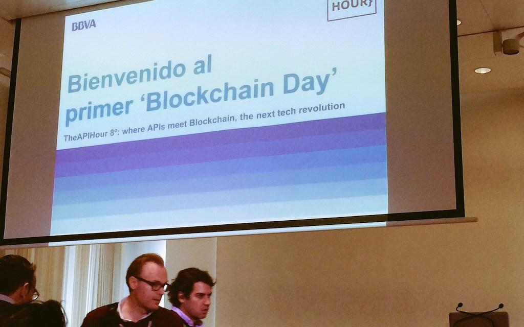 Entérese de lo sucedido en la 'API Hour: Blockchain Day' del BBVA en España