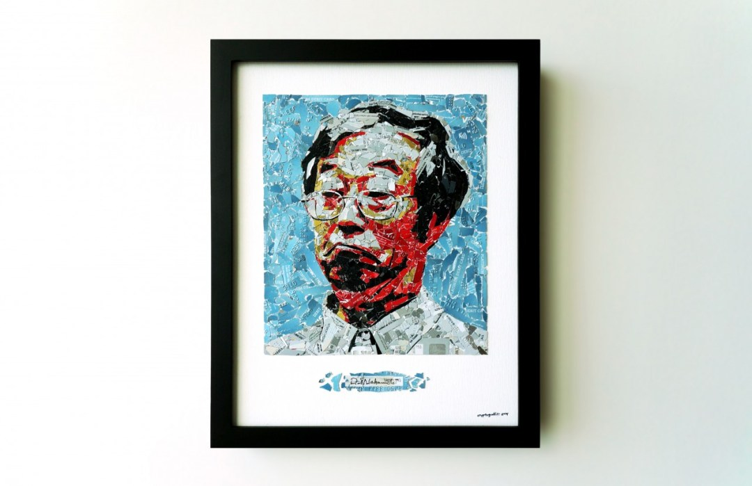 Retrato de Dorian Satoshi Nakamoto