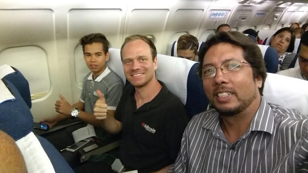 Durante un viaje dentro del territorio venezolano