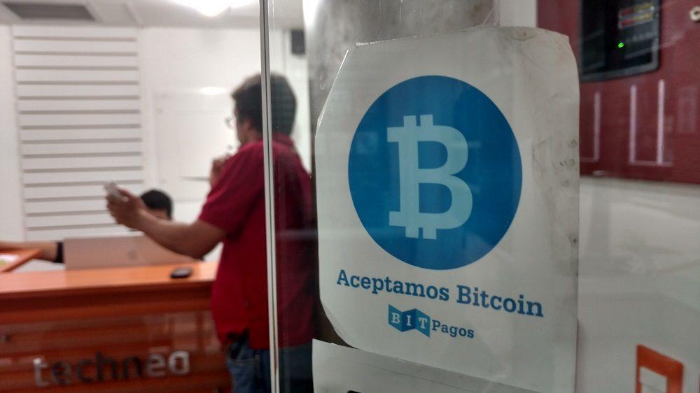 Un local en Caracas que acepta Bitcoin