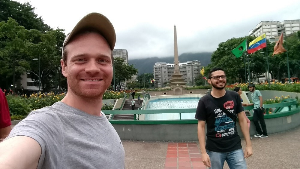Plaza Francia en Altamira, Caracas
