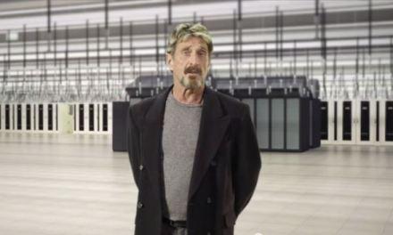 Creador del antivirus McAfee anuncia instalación de centro de minería bitcoin