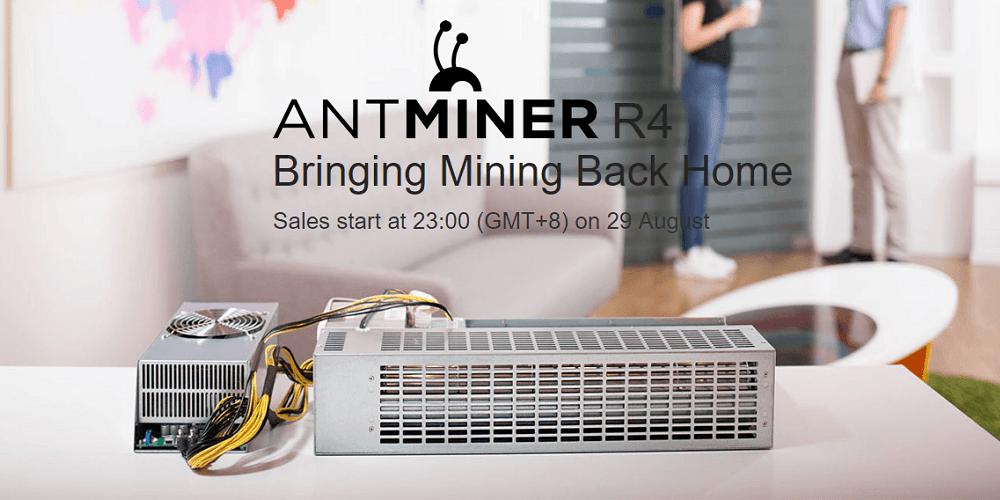 Bitmain planea 'traer la minería de vuelta a casa' con el AntMiner R4