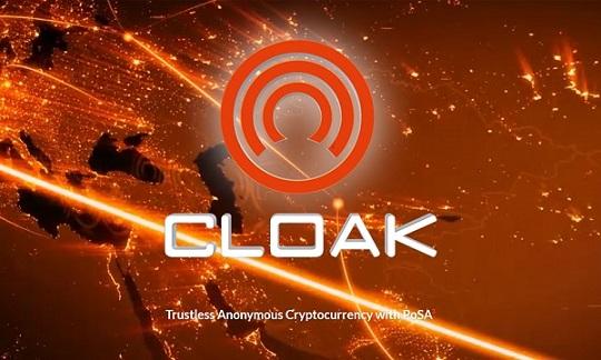 CloakCoin, la criptomoneda anónima completamente descentralizada y sin nodos maestros