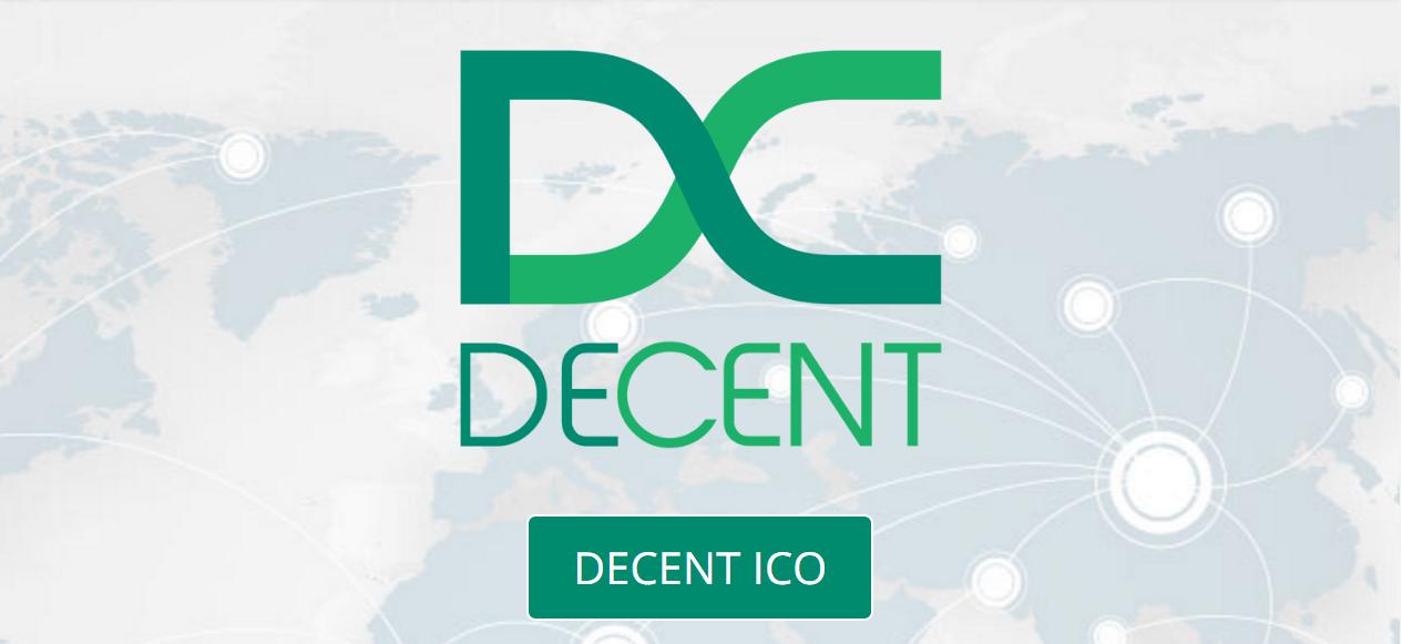 DECENT lanza aplicación web de pruebas a solo días de finalizar su ICO