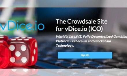 Con más de $1,5m recaudados, vDice entra en la semana final de su ICO