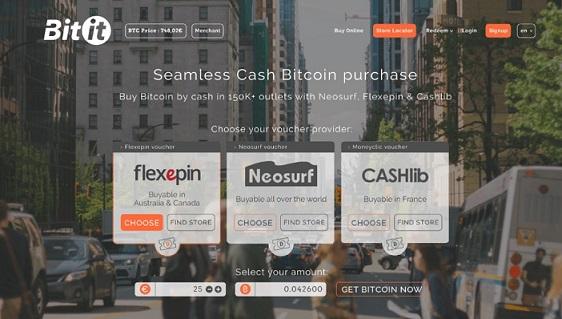 Alianza de Bitit con Cashlib añade más de 35.000 puntos de venta Bitcoin by Cash en Europa