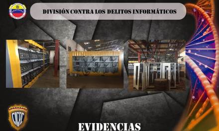 Autoridades venezolanas apresan a cuatro mineros de bitcoins en las afueras de Caracas